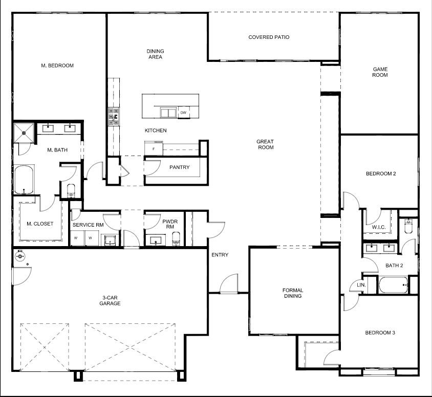 Floor Plan Piedmont Prairie Ranch 3 Floor Plan (4480 sq ft, 6 ... on ranch home addition plans, ranch home lighting, ranch home elevations, ranch home interiors, ranch home building kits, ranch homes with porches, ranch home sketches, ranch home bedrooms, large ranch home plans, luxury home plans, ranch home architecture, ranch home design plans, ranch home history, ranch home pricing, ranch home doors, ranch home basement plans, ranch style homes, house plans, ranch home with basement, ranch log home plans,